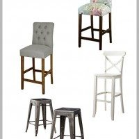 Kitchen Update and Inexpensive Bar/Counter Stool Round Up