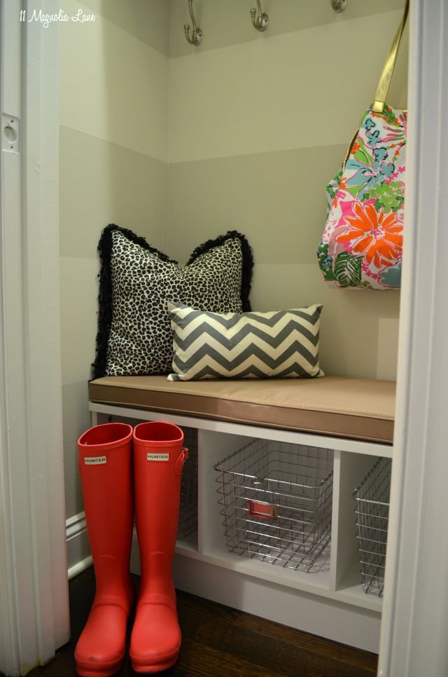 How to DIY a Mudroom/Drop Zone (For Renters)