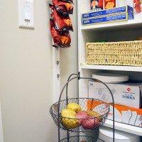 DIY $10 Pantry Chip Rack