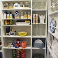DIY walk-in pantry | 11 Magnolia Lane