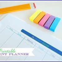 Introducing The 11 Magnolia Lane Printable Student Planner