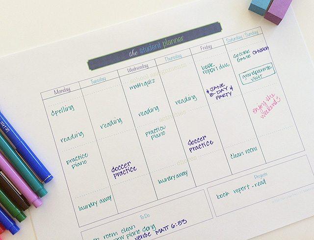student-planner-header
