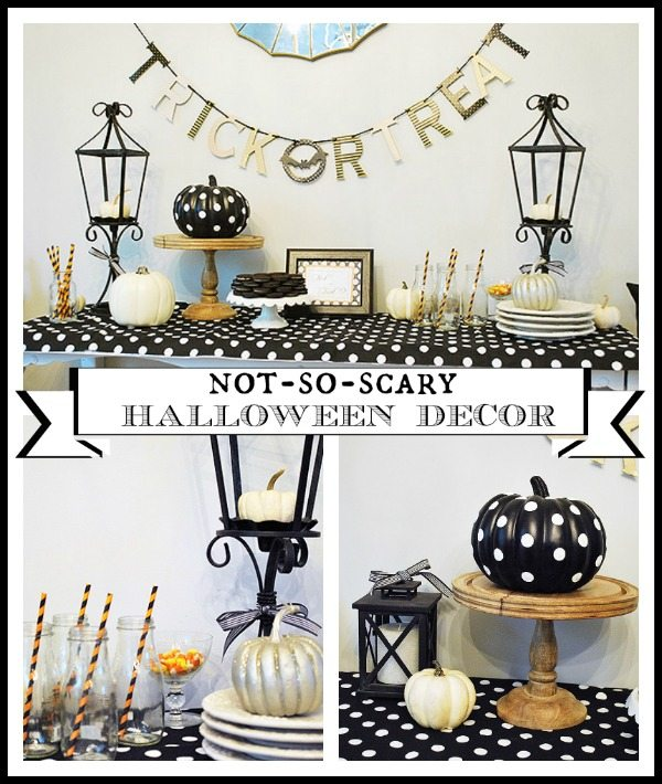 'Not-So-Scary' Halloween Decor and other ways to celebrate Halloween
