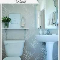 One Room Challenge–Powder Room REVEAL!