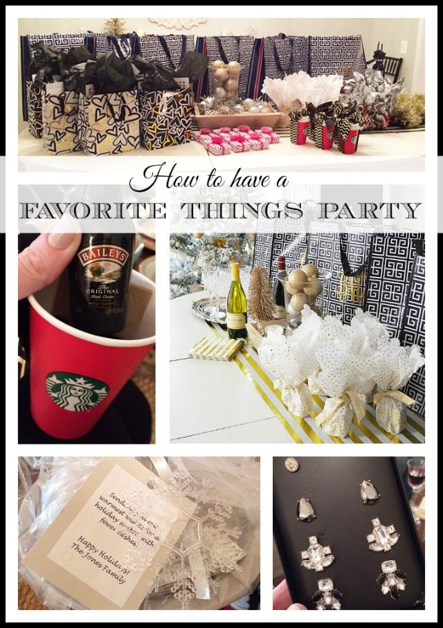 "How to throw a ""Favorite Things"" party {Girls Night Out}"