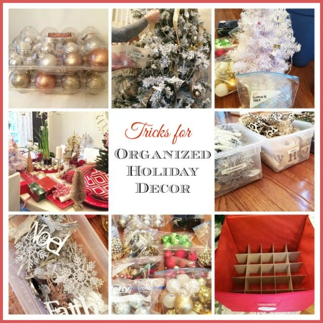 Organizing Christmas Decor Header