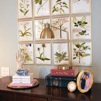 DIY Botanical Gallery Wall in the Master Bedroom