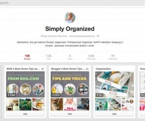 How to easily organize your Pinterest boards so you can find inspiration! A Professional Organizer shares her tips and tricks, part of Operation: Organization at 11 Magnolia Lane.