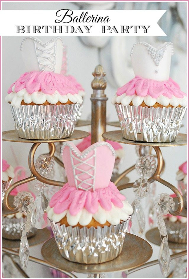 A Ballerina Birthday Party