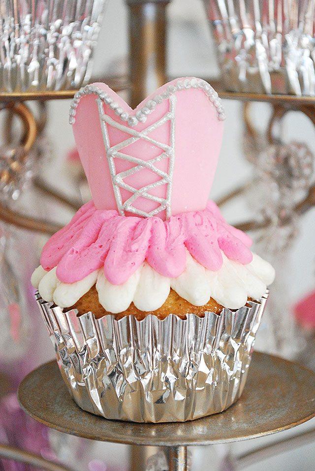 Girls Ballerina Ballet Themed Birthday Party 11 Magnolia