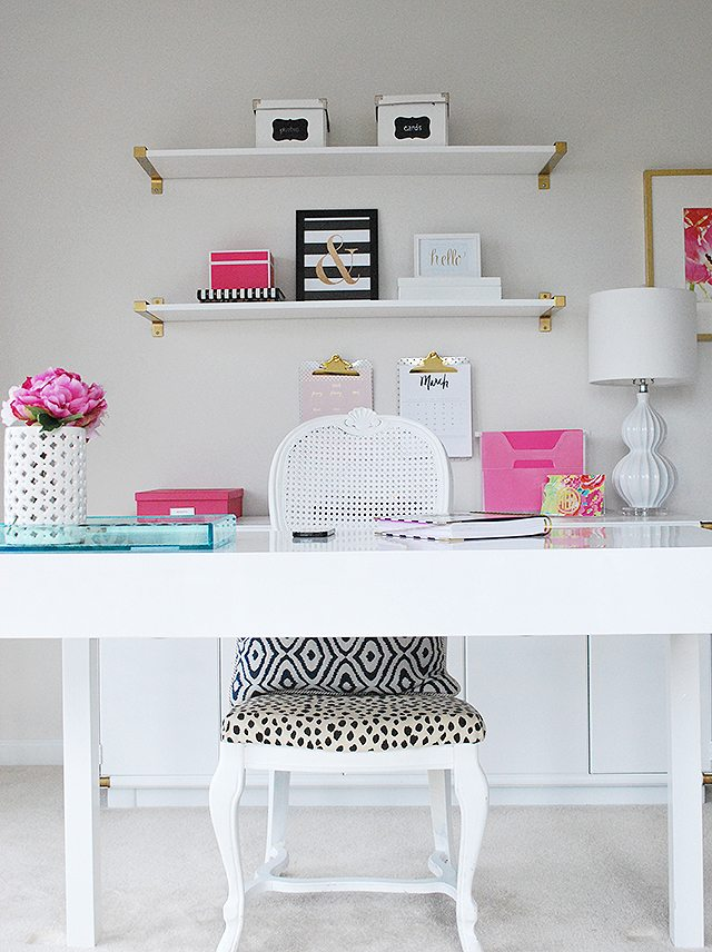 The 'Get Organized' Blog Hop–My Home Office