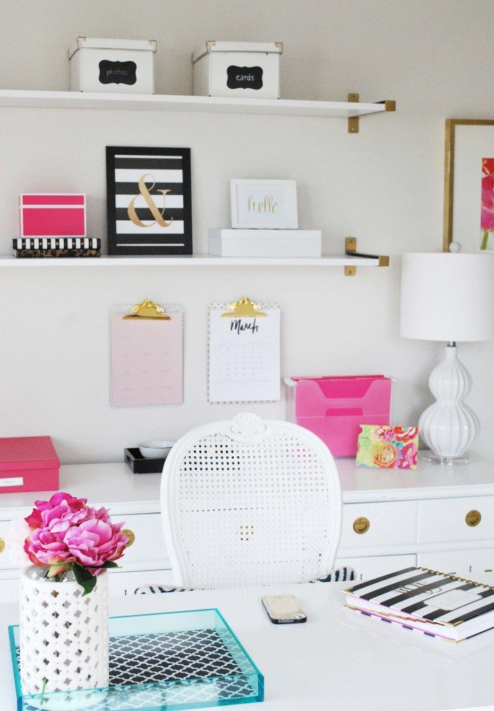operation: organization amy's organized {kate spade inspired