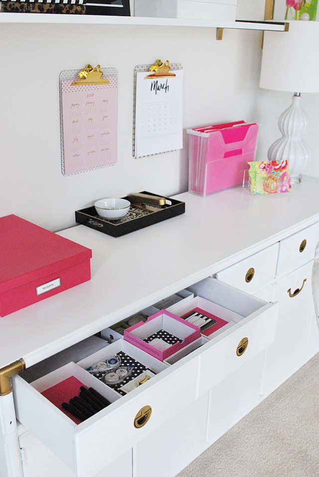 console-organized-drawers