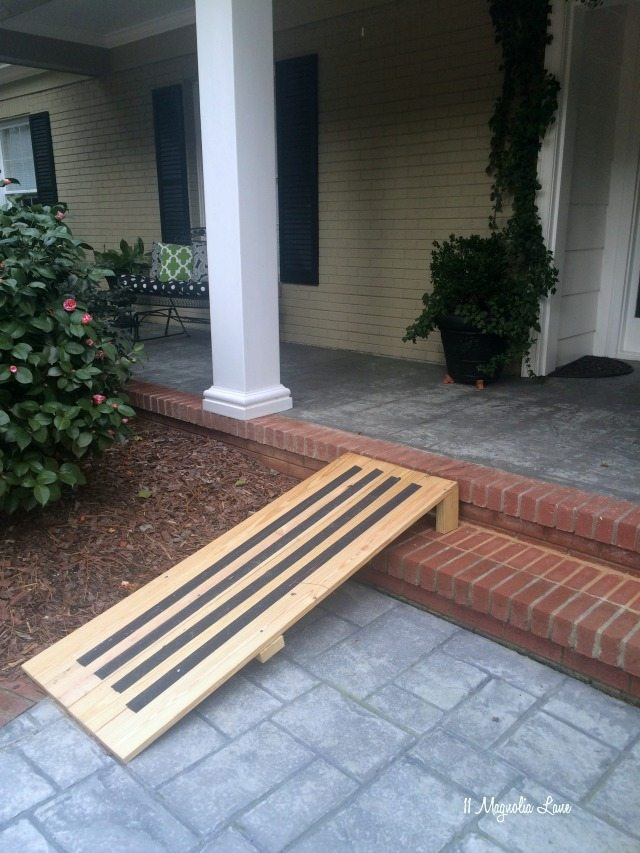 DIY dog ramp