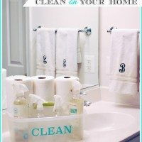 unleash clean on your home {simplifying life}