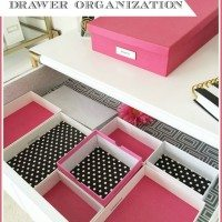 Easy {& Free} Drawer Organization