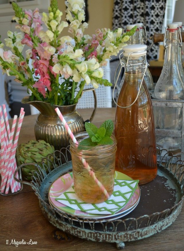 Peach Sweet Iced Tea Recipe