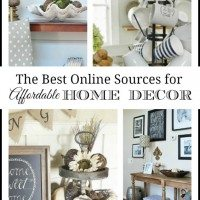Our Favorite Places to Shop {Online} for Affordable Home Decor