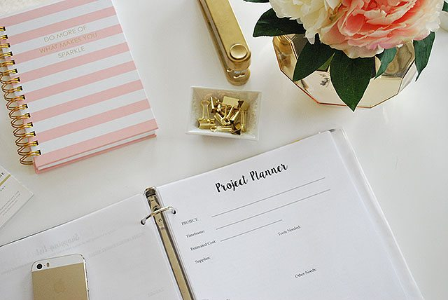 A Free, Printable, Planner To Organize All Your Home Projects | 11