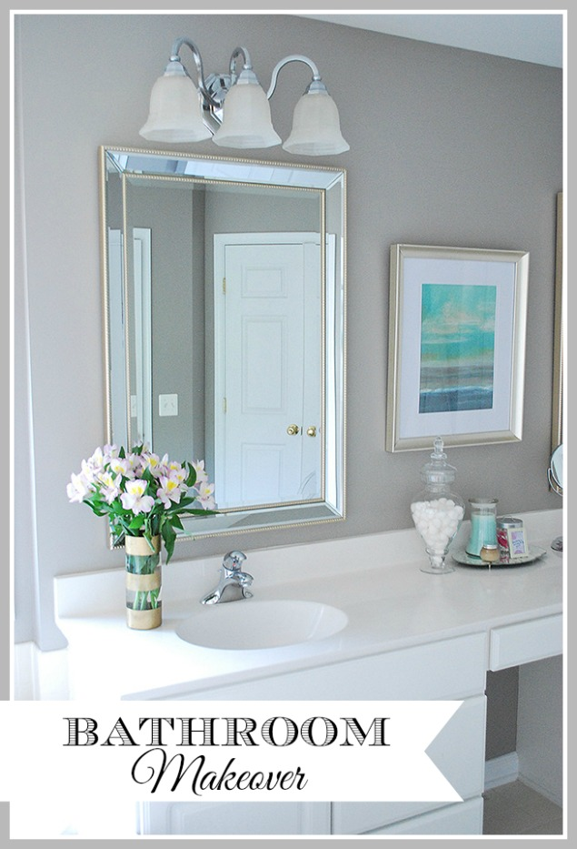 Master Bathroom Reveal {part 1}