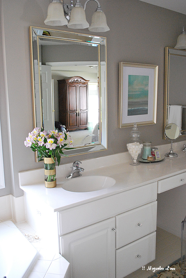 Master Bathroom in Functional Gray