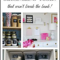 Our Favorite {Inexpensive} Organizing Tools