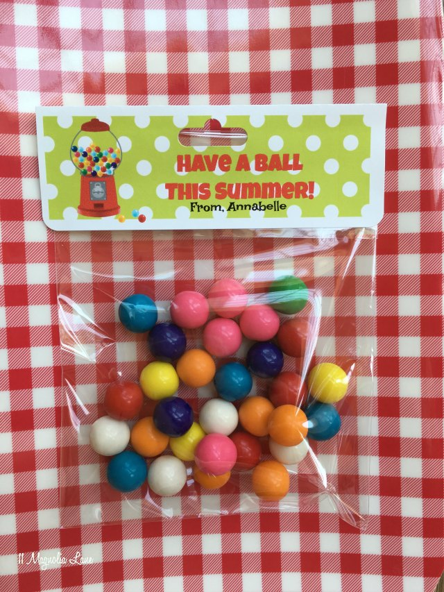 """Have a Ball"" End of School Year Treats"