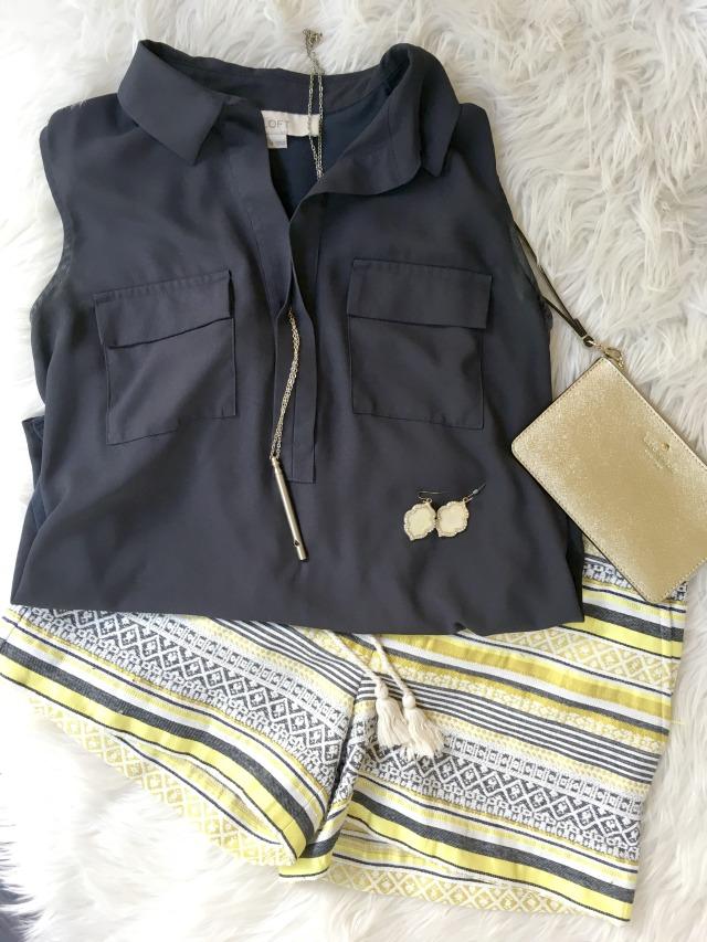 Riviera shorts | 11 Magnolia Lane