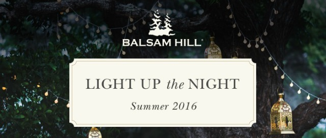 """Light Up the Night"" Summer Housewalk with Balsam Hill 