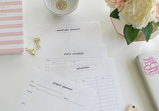 full-student-planner-wardrobe-chores-checklist