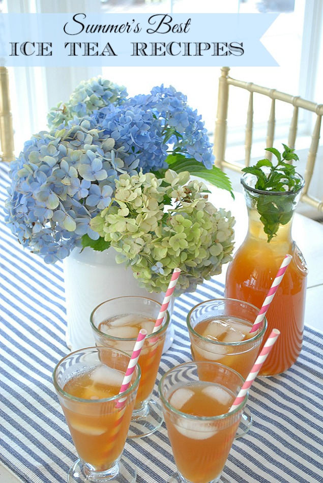 Ice Tea for Moms & Summer Tea for Kids {Recipes!}