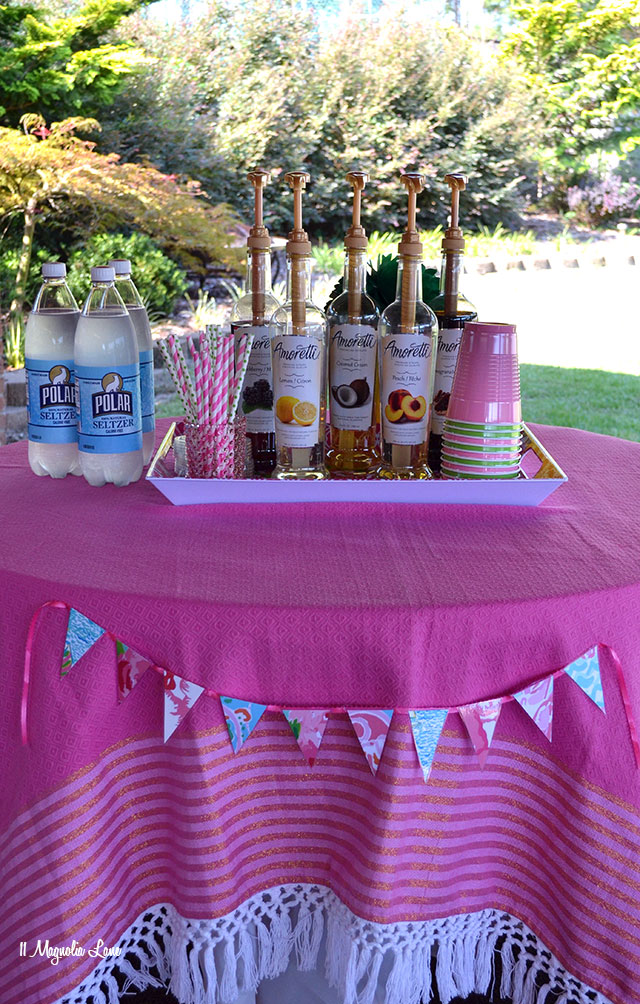 A Lilly Pulitzer Birthday Pool Party