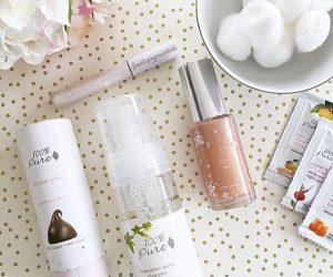 Great line of natural, safe make-up using fruit pigments