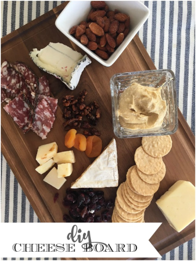 DIY Serving Tray and Cheese Board Entertaining Ideas