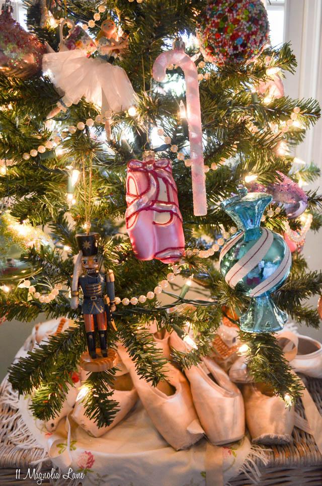 Nutcracker Ballet themed Christmas decor | 11 Magnolia Lane