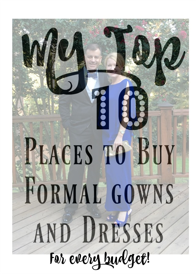 My Favorite Sources for Formal Dresses