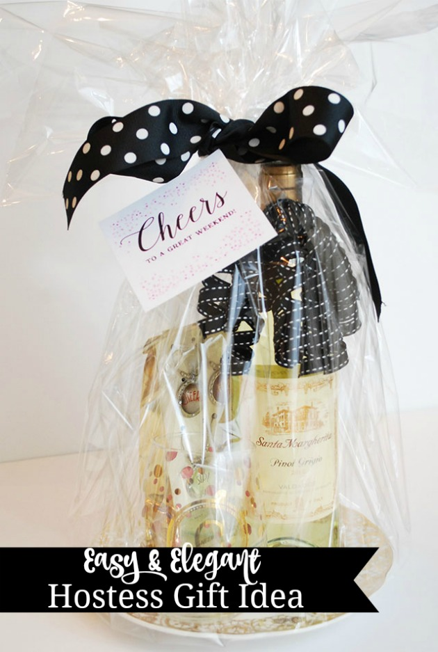 Easy gift basket ideas for all occasions 11 magnolia lane for Ideas for hostess gifts for dinner party