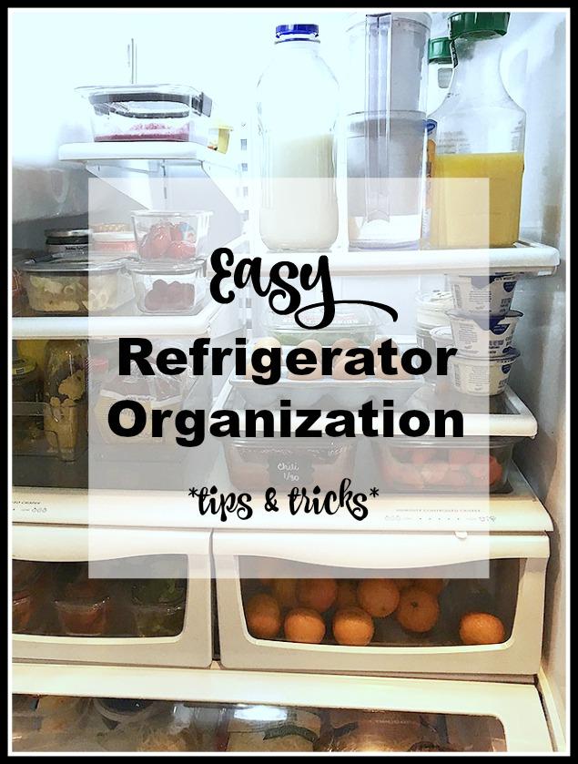 How To Organize Your Fridge {Tips & Tricks}