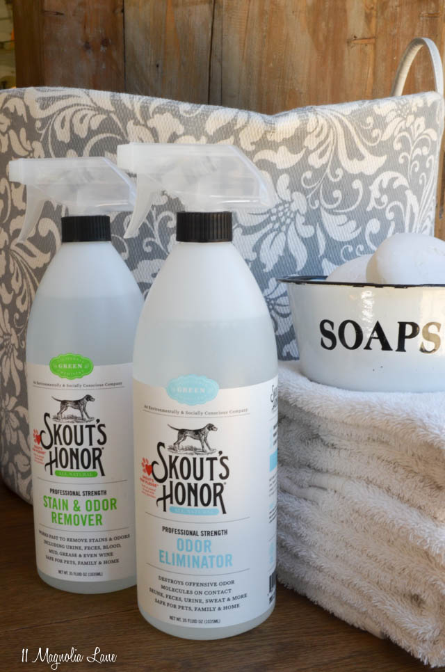 Skout's Honor green, eco-friendly and SAFE cleaning products