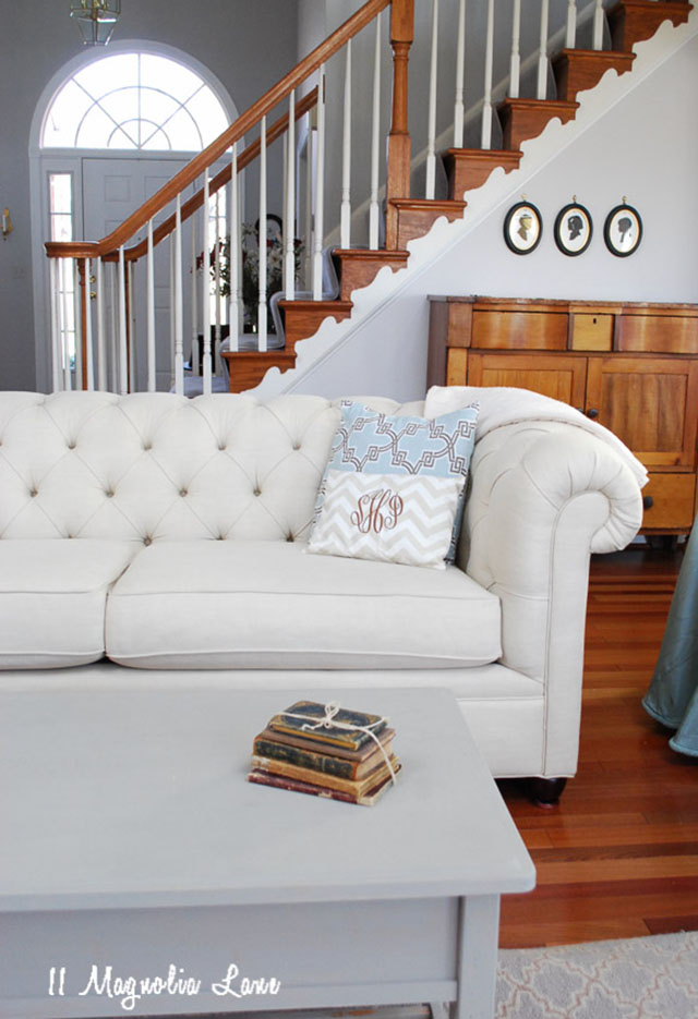 This Sofa Is Classic, And I Think It Is Really As Beautiful As It Looks In  The Catalog. I Admit I Am Fearful When We Visit And My Kids Sit On It, ...