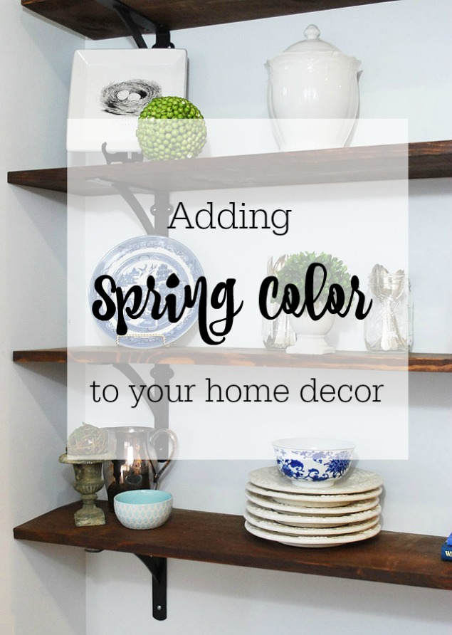 Adding Color to your Indoor Spaces for Spring