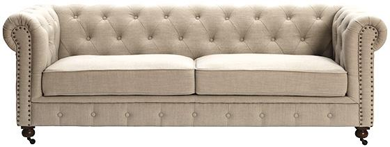 Exceptional This Is The Gordon Tufted Sofa From The Home Decoratoru0027s Collection. I  Donu0027t Own This One Either, But I Have Seen It In The Linen Fabric On  Display At The ...