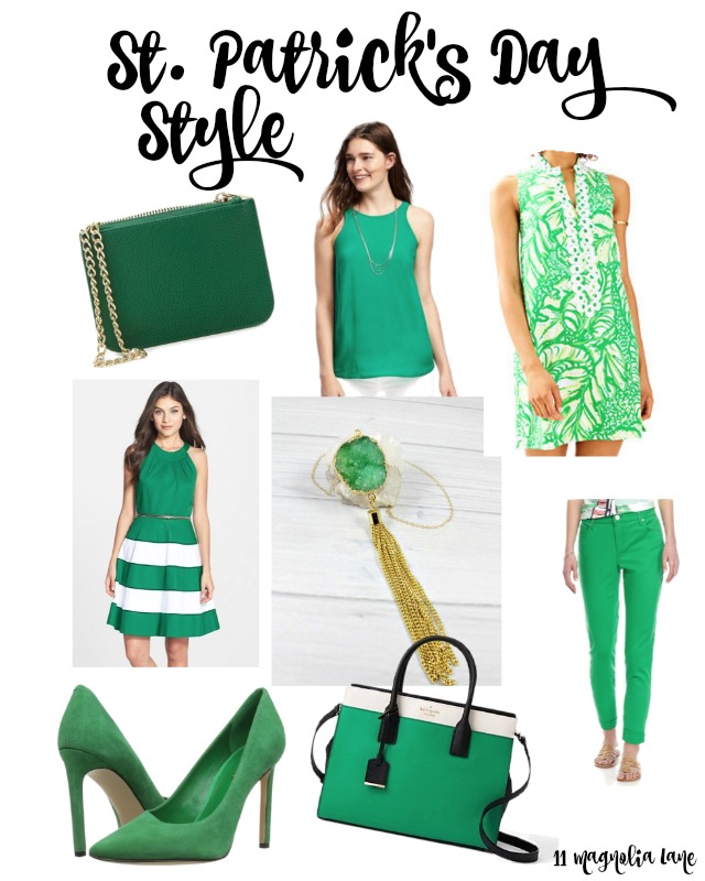 St. Patrick's Day Style (for Ladies)