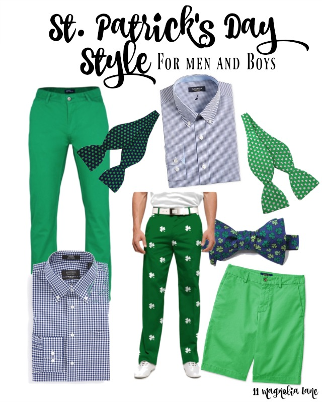 St. Patrick's Day Style (for Men & Boys)