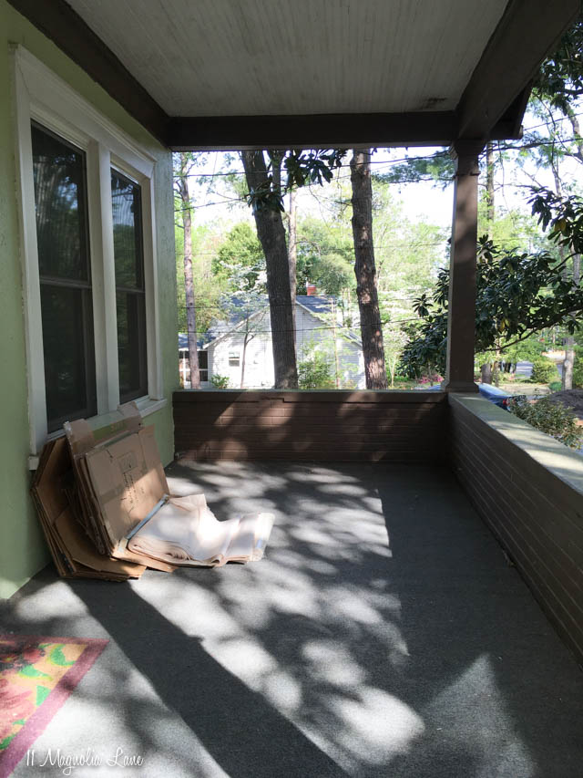 MCC house-front porch