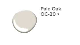 Pale Oak by Benjamin Moore in Boys Room